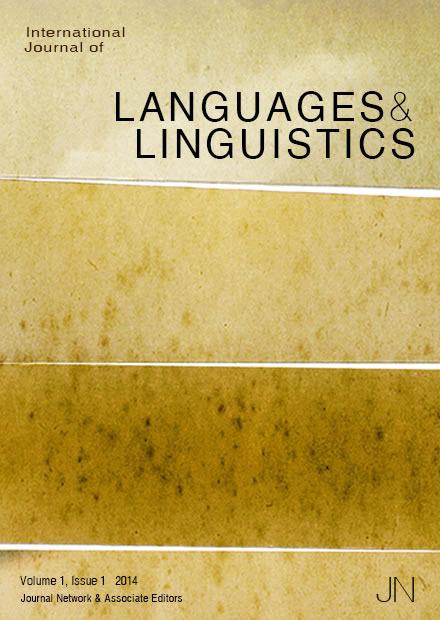 international journal of language and linguistics2014 Language learning strategies international journal of language and linguistics2014 essay international journal of language and linguistics.
